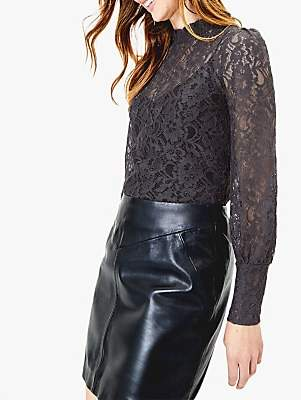Oasis Lace Sheer Blouse