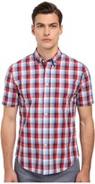 Jack Spade Rayford Plaid Short Sleeve Shirt