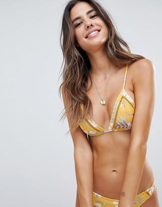 rhythm Tropical Bralette Bikini Top