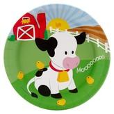 BuySeasons Barnyard Paper Dinner Plates - 8 count