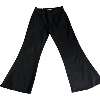 Jucca Black Denim - Jeans Trousers for Women