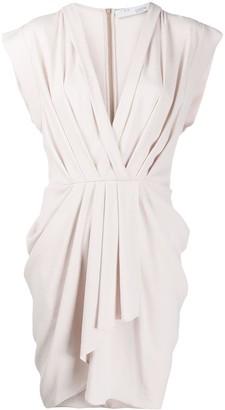 IRO Garm pleated midi dress
