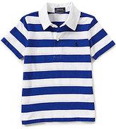 Ralph Lauren Little Boys 2T-7 Bold-Stripe Short-Sleeve Polo Shirt