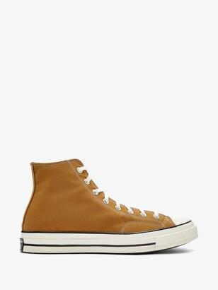 Converse Brown Chuck 70 High Top Sneakers