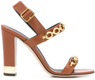 Giuseppe Zanotti Sandrine chain-embellished sandals