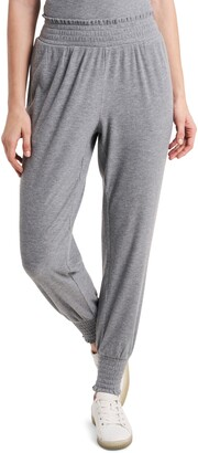1 STATE Smocked Joggers