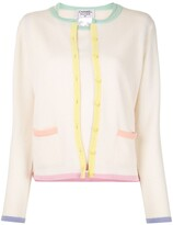 Chanel Pre Owned 1998s CC button ensemble cardigan tops