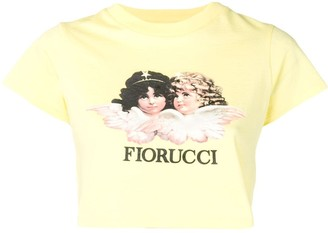 Fiorucci Angels cropped T-shirt