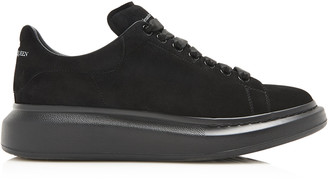 Alexander McQueen Suede And Rubber Sneakers