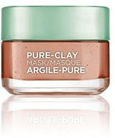 L'Oreal Skin Care Pure Clay Mask Exfoliate And Refine Pores, 1.7 Ounce