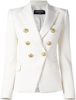 Balmain double breasted blazer - women - Cotton/Spandex/Elastane/Viscose - 36