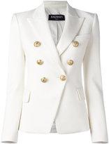Balmain double breasted blazer - women - Cotton/Spandex/Elastane/Viscose - 40