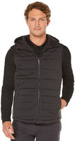 Perry Ellis Hooded Puffer Vest