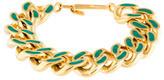 Aurelie Bidermann Waikiki Curb Chain Bracelet
