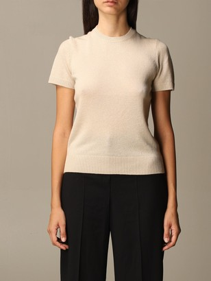 Theory Sweater Cashmere Sweater With Short Sleeves