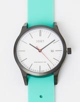 Matte Black-White & Mint Watch