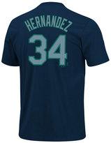Majestic Boys' Short-Sleeve Felix Hernandez Seattle Mariners T-Shirt