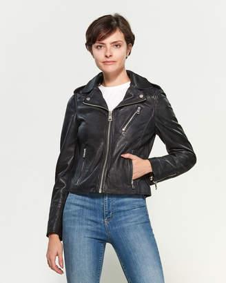 Bagatelle Leather Moto Jacket