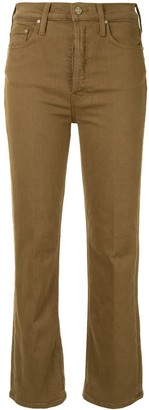 Mother Tripper boot-cut jeans