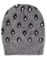Autumn Cashmere Leopard Intarsia Hat