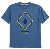 Volcom Boy's Chow Logo T-Shirt