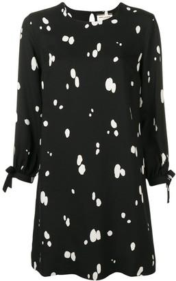 Saint Laurent Spotted Dress