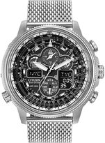Citizen Eco-Drive Navihawk A-T Mens Chronograph Watch JY8030-83E