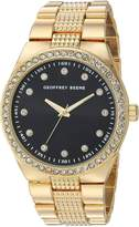Geoffrey Beene Men's Quartz Metal and Alloy Dress Watch, Color:Gold-Toned (Model: GB8118GD)