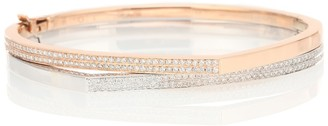 Repossi Exclusive to Mytheresa Antifer 18kt rose gold and white gold bracelet with diamonds