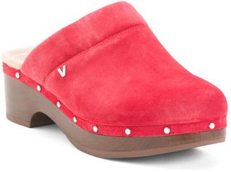 Comfort Suede Slip On Mules