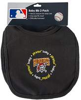 Baby Fanatic Team Color Bibs, Pittsburgh Pirates, 2-Count