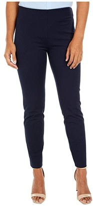 Lauren Ralph Lauren Stretch Twill Skinny Pants (Lauren Navy) Women's Casual Pants