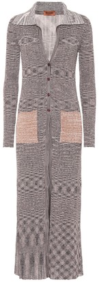 Missoni Ribbed knit longline cardigan