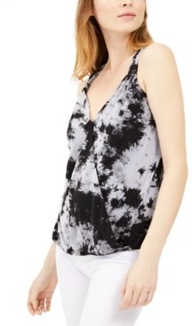 INC International Concepts I.n.c. Petite Tie-Dyed Tank Top, Created for Macy's