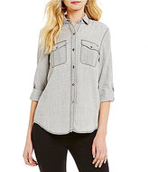Daniel Cremieux Jake Chambray Blouse