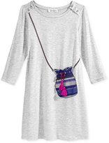 Jessica Simpson Tassel Purse Dress, Big Girls (7-16)