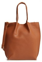 Sole Society Gramercy Faux Leather Tote - Brown