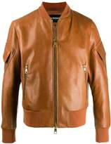 Neil Barrett zip-up bomber jacket