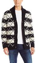 G Star Men's Core Jacquard Shawl Cardigan Sweater