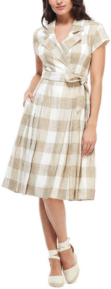 Gal Meets Glam Linen Mini Dress