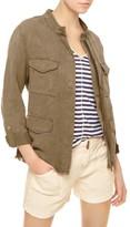 Sanctuary Petite Women's Roy Frayed Surplus Jacket