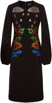Cynthia Rowley floral Applique dress