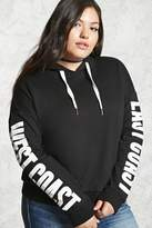 Forever 21 Plus Size Coast Hoodie