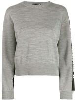 Love Moschino logo stripe sweater