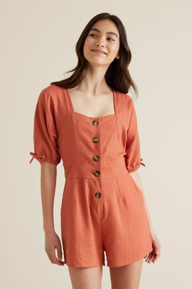 Seed Heritage Button Playsuit