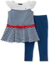 Tommy Hilfiger Two-Piece Knit Tunic and Capri Pants Set