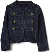 Denim band jacket