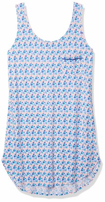 Cosabella Women's Bella Tank Sleep Shirt - Printed