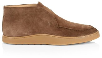 Tod's Pull-On Suede Chukka Boots