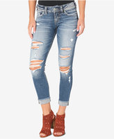 Silver Jeans Suki Ripped Skinny Jeans